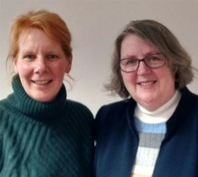 Gill Crippen and Jan Atkins